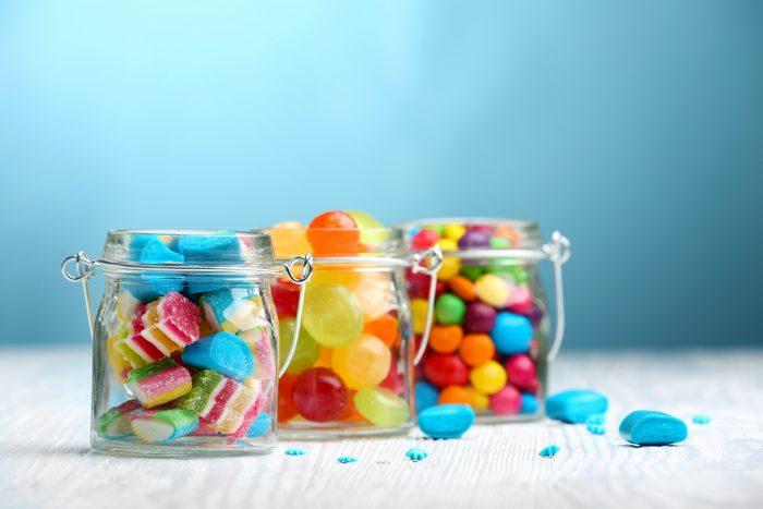 Candy on Auburn Break Room Menu