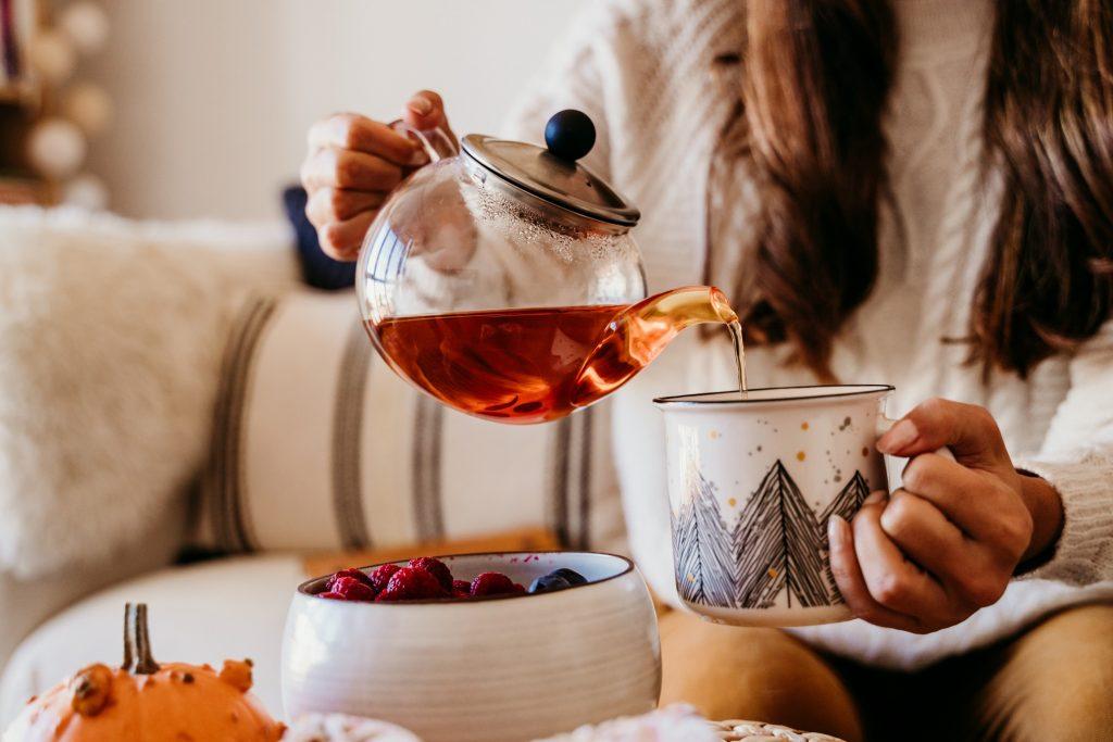 Hot tea in Montgomery