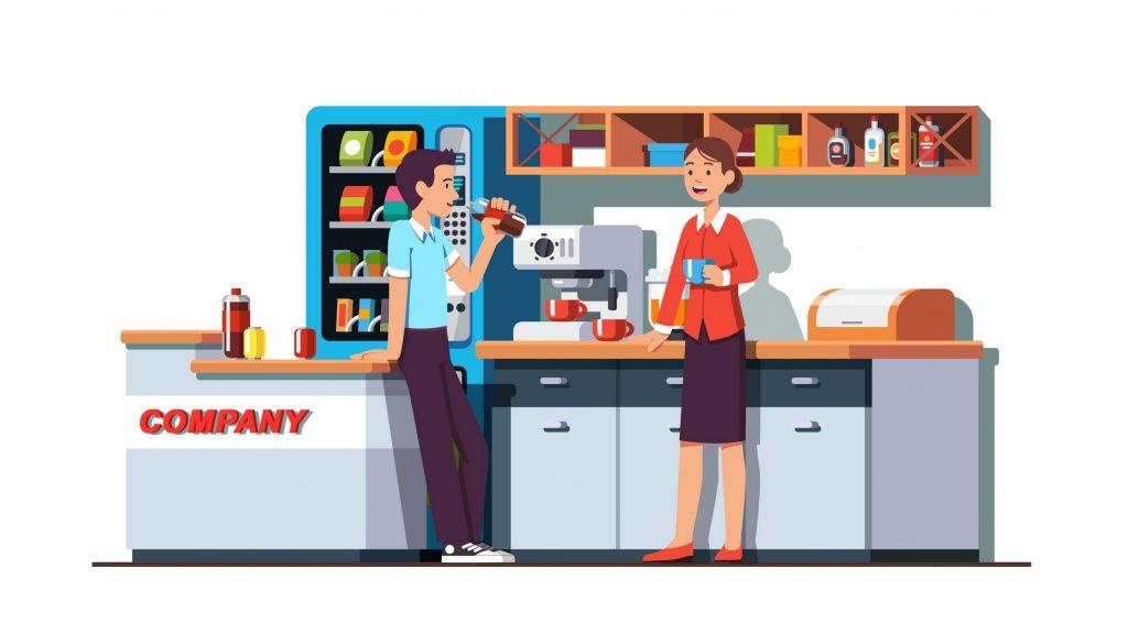 Montgomery Vending | State-of-the-Art Vending Equipment | Company Culture | Break Room